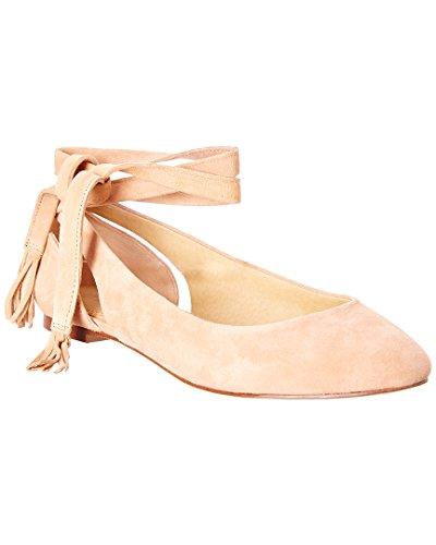 Prachtige Jerrie Suède Ballerina Plat, 7
