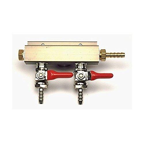 (2-way Air Co2 Distributor Manifold 5/16