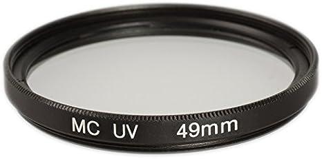 Ares Foto® Filtro de protección UV 49mm (multicoated) para Canon ...