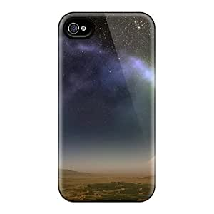 Durable Protector Case Cover With Pyramid L Hot Design For Iphone 4/4s