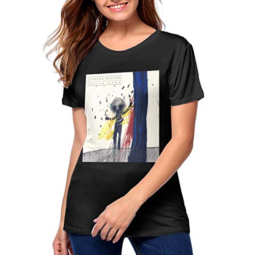 Wilson Home Jersey - Steven Wilson Drive Home Womans Fashion Round Neck Short Sleeve T-Shirt S Black