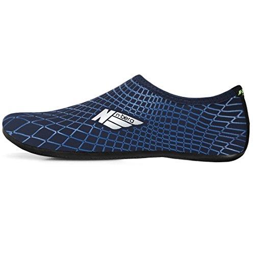 Justonestyle Blote Voeten Water Flexibele Huid Schoenen Aqua Sokken Met Buitenzool Voor Strand Zwemmen Surfen Zomer Vrije Tijd Sporten Marine