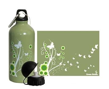 Botella de agua de acero inoxidable 600 ml con muelle hacia ...