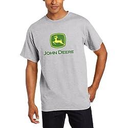 John Deere Men's Trademark Logo Core Short Sl