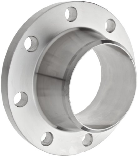 Stainless Steel 304/304L Weld Neck Pipe Fitting, Flange, Schedule 40, Class 150, 6'' Pipe Size by Merit Brass