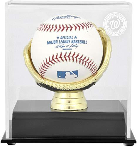 Washington Nationals Gold Glove Single Baseball Logo Display Case