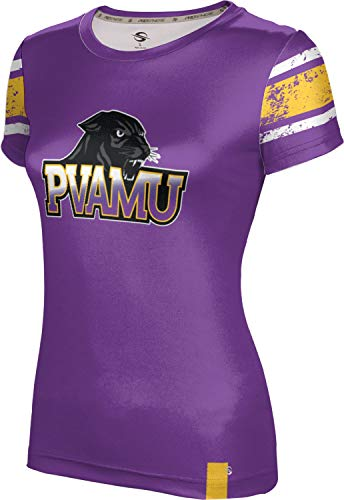 - ProSphere Prairie View A&M University Women's Performance T-Shirt (End Zone) FF3C Purple and Gold
