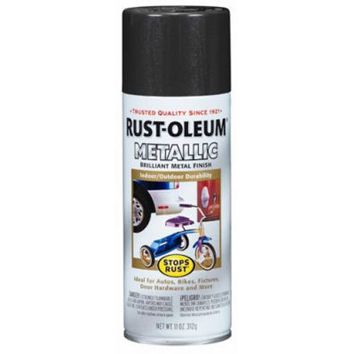 Rust-Oleum 7272830 Metallic Spray, Dark Bronze, 11-Ounce