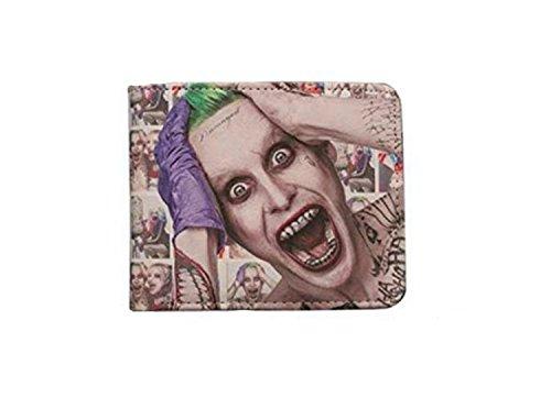 J&C DC Comics Suicide Squad Joker (Batman) Bi-fold Men's Boys (Dc Comics Halloween Special)