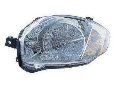 DRIVER SIDE HEADLIGHT Mitsubishi Eclipse HALOGEN HEAD LIGHT ASSEMBLY; FITS ALL COUPE MODELS; FITS 01/2007 ON CONVERTIBLE MODELS WITH 2.4 ENGINE