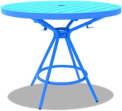 Safco Products CoGo Steel Indoor Outdoor Table