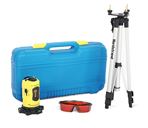 Nordstrand CL01 Automatic Self Levelling Cross Line Laser Level - Tripod...
