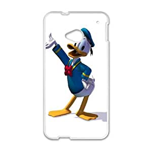 Donald Duck HTC One M7 Cell Phone Case White O2454989
