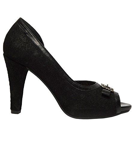Les Escarpins De 6015schwarz De Noir Noir Femmes Stockerpoint