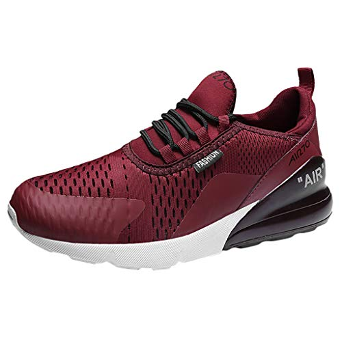 Lovygaga Fashion Men Casual Breathable Comfy Athletic Running Walking Shoes Ultra Lightweight Outdoor Student Sneakers - Diamond Salad Fork