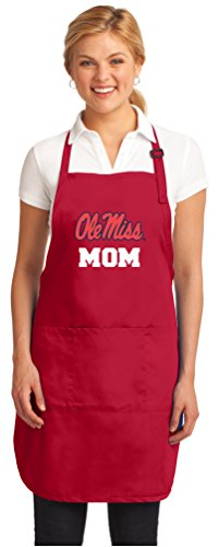 Broad Bay Best Ole Miss Mom Aprons Deluxe University of Mississippi Mom Apron