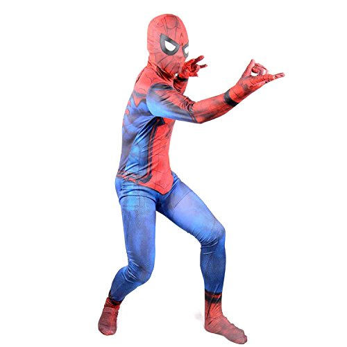 2017 New Justice Spider Man Suit Boys Cosplay Halloween