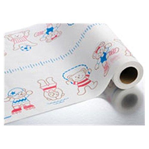 WP000-84 84 84 Paper Exam Table Crepe Pediatric Bears 14.5x125 12Rl/Ca Graham Medical