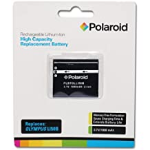 Polaroid High Capacity Olympus LI50B Rechargeable Lithium Replacement Battery (Compatible With: XZ-1, TG-610, SZ10, SP-800, Tough-6020, 7010, 9010, 6010, 9000, 8000, 6000, 1010, 1020, 1030 )