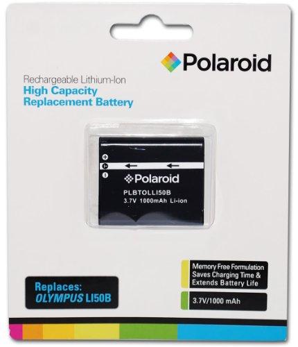 Polaroid High Capacity Olympus LI50B Rechargeable Lithium...
