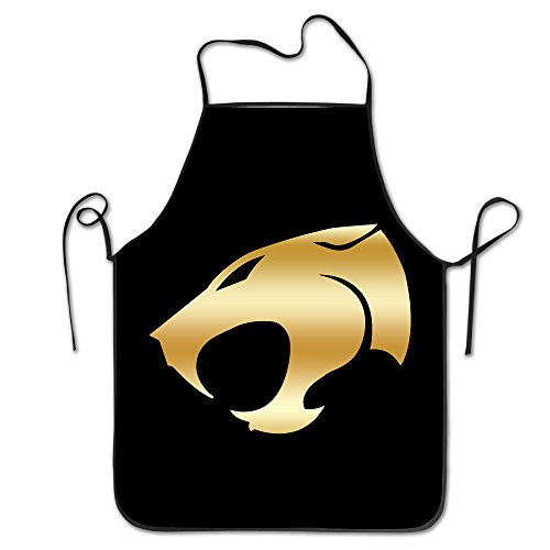 Thundercats Gold Logo Kitchen Grilling Apron (Female X Men Characters)