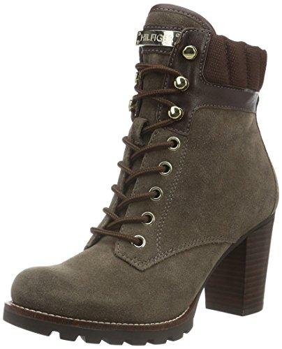 Tommy Hiliger I1285SABELLA 14C, Zapatillas de Estar por Casa para Mujer Marrón - Braun (Mink 906)