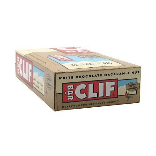 Clif Clif Energy Bar, White Chocolate Macadamia Nut, 12 ea