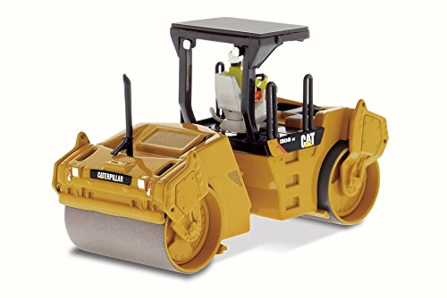 Caterpillar CB-534D XW Vibratory Asphalt Compactor, Diecast Masters 85132 - 1/50 Scale Construction Vehicle 50 Diecast Vehicle