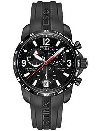 Mans watch R. CERTINA DS PODIUM GMT/CRO PVD NEG CAU C0016391705700