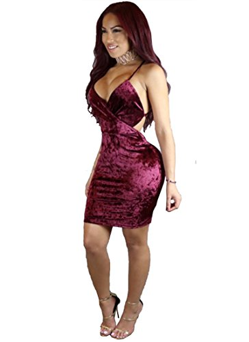 Halter Clubwear Dress - 5