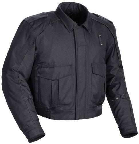 Tourmaster 'Flex LE 2.0' Mens Black Motor Officer Textile Jacket - X-Large