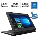 2017 Lenovo N23 11.6-inch Touchscreen 2-in-1 Business Laptop, Intel Celeron N3060, 4GB Memory,...