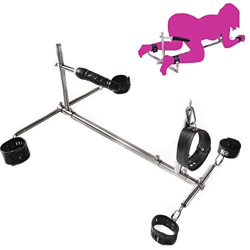 crazy-shop Large Phallus Rack, compulsory Binding, Handcuffs, feet Handcuffs Collar, Men and Women SM Crazy Toys,Crazy productss