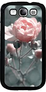 Case for Samsung Galaxy S3 (GT-I9300) - Rose at backlight
