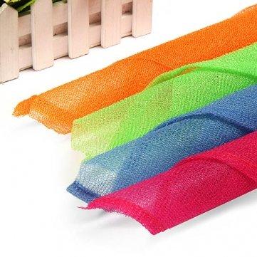 Bheema Exfoliating Nylon Bath Wash Cloth Towel - Light Green
