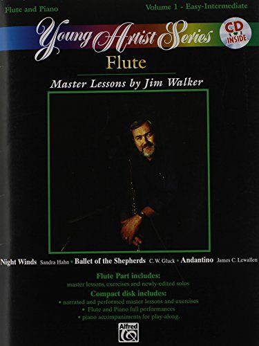 Walker Flute Jim - Young Artist, Vol 1: For Flute and Piano (Easy/Intermediate), Book & CD (Young Artist Series)
