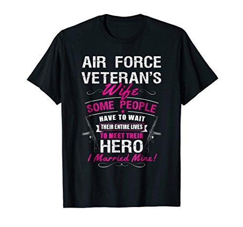 Air Force Veteran's Wife Tshirt