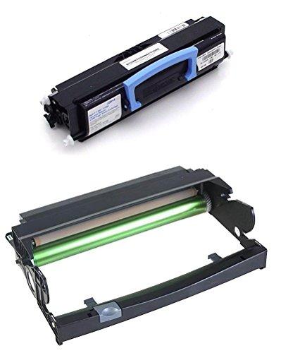 Global Cartridges Toner Cartridge + Drum Replacement for Dell 1700 1700n 1710 1710n Printers / 310-7025 310-5402 310-7041 K3756 310-7021 ()