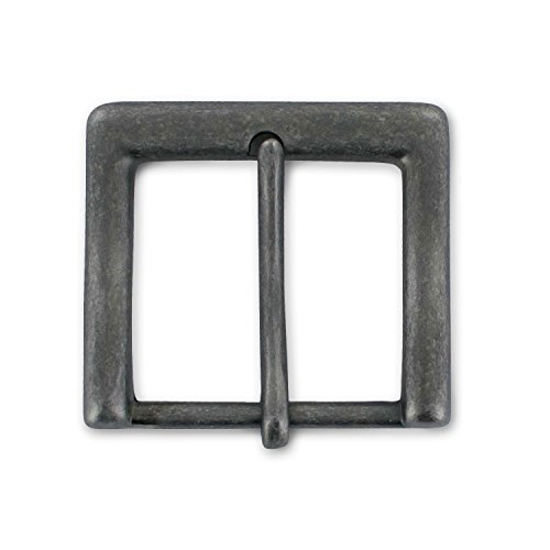 "Hanks 1.5"" Antique Nickel Buckle - Replacement Belt Buckle - 100-Year Warranty"