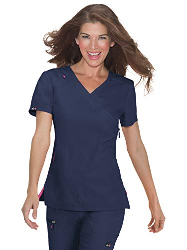 KOI lite 316 Women's Philosophy Scrub Top Navy M ()