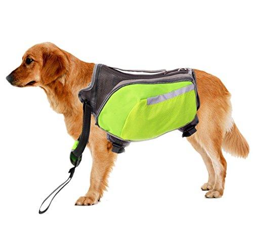 CutePaw Adjustable Dog Pack Backpack Saddlebag Harness Carrier Hound Daypack by CutePaw (Image #4)