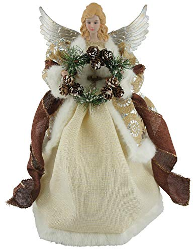 Santa's Workshop Earthly Angel Tree Topper 16