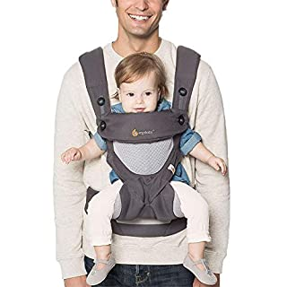 The Ergobaby 360 is a natural next step after your little one outgrows the stage of being carried in a baby wrap or newborn carrier. This award-winning baby backback carrier ergonomically supports baby in all carry positions as baby begins to explore...