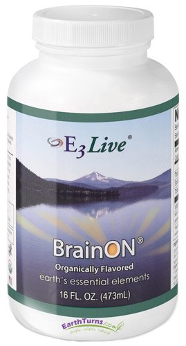 E3Live BrainOn Citrus - Frozen - 6 Pack (16 Ounce) by E3Live