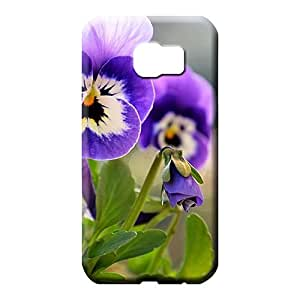 samsung galaxy s6 edge Excellent Fitted With Nice Appearance skin mobile phone back case beautiful little pansies