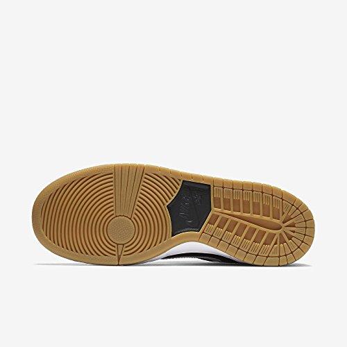 Scarpe Black Uomo Iw White da Gum Pro Skateboard Nike Dunk Light Brown Low 0qwIzIB8