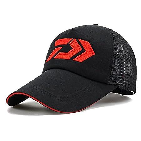 LENGXDR Cap Summer Sun Cap Breathable Wicking Mesh Visor Ventilation Adjustable Sun Hat Daiwa Male Outdoor Fishing Cap