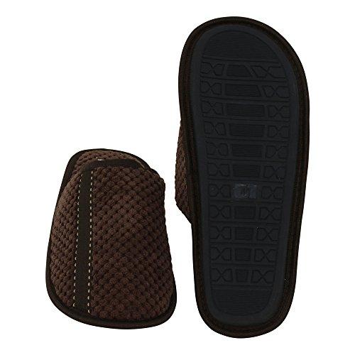 brandsseller Men's Slippers Brown 217EVl