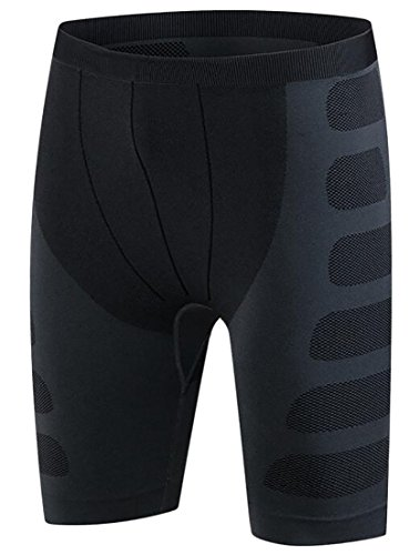 Voler Shorts - Alion Mens Thermal Compression Shorts Base Layer Men's Boxing Training Fitness Running Exercise 1 L
