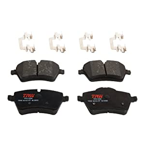 TRW TPC1204 Premium Ceramic Front Disc Brake Pad Set